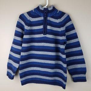 EUC Carter's Half Zip Sweater, size 5